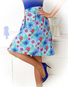 Neu im Shop: Wedgwood Skirt (Eröffnungsangebot! Waist Skirt, High Waisted Skirt, Straight Stitch, Stitch Design, Wedgwood, Rock, Skirts, Shopping, Fashion
