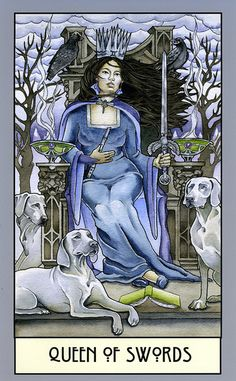 queen of swords - winonacookie [flickr]