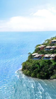 The 60 villas of Sri Panwa are built into the rainforest 100 feet above the Andaman Sea.