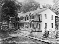Dining Hall 1st Hotel Ca 1870 Bon Aqua Springs Wemyss