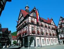 Bad Urach, Fachwerk Rathaus