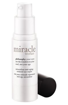 philosophy 'miracle worker' miraculous anti-aging retinoid eye repair available at #Nordstrom