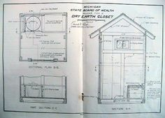 outhouse blueprints