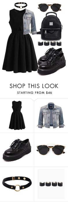 """""""Untitled #260"""" by mmariya1-1m ❤ liked on Polyvore featuring Chicwish, maurices, WithChic, Christian Dior, Nika and Maison Margiela"""