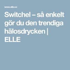 Switchel – så enkelt gör du den trendiga hälosdrycken | ELLE