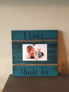 Nanny Gift Personalized Picture Frame Board We Love Our Nanny