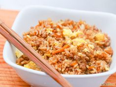 Fried rice simplified Wiki instructions with pics. Yes