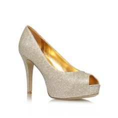 camya22, gold shoe by nine west - women shoes occasion