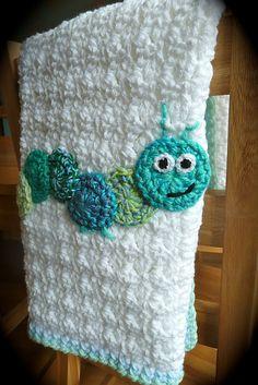 Ravelry: Crochet Caterpillar Blanket pattern by Debbie Redman