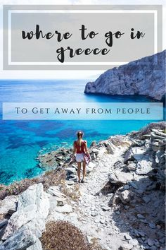 Avoid the crowds in Greece with these less touristy Greek islands. Here you'll find some of the most beautiful beaches in Greece with none of the crowds. These undiscovered Greek islands are the best, most beautiful Greek islands to avoid tourists. #Greekislands #bestofGreece #Greecewithoutthecrowds #undiscoveredGreekislands