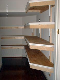 Under the Stairs storage.