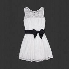 Abercrombie Kendell dress in White