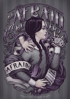 My personal Wednesday Addams design! Get it as T-shirt and more starting at $11 in www.teevillain.com