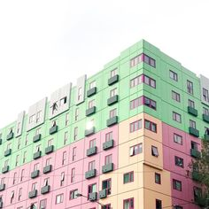 I always love this kitsch-cool building near my place   #ABMLifeisColorful #CandyMinimal #kitsch #LiveColorfully