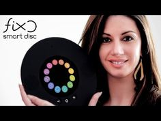 FIXO: the Smart Disc is landing home Introducing the first round computer that controls, entertains and makes your life easier at home