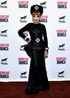Bianca Del Rio at the NYC premiere of Hurricane Bianca [x]