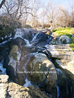 Cascada de la Dehesa Vieja el último día del año