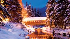 covered bridge- Vail, CO