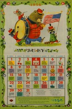 ♥ this! Richard Scarry   The month and year I was born. July 13th and it was a Friday!!