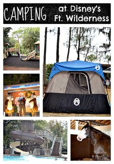 Camping At Disney's Fort Wilderness - why kids will love it so much! (Orlando, Florida) http://mamato5blessings.com/2016/01/camping-disneys-fort-wilderness/