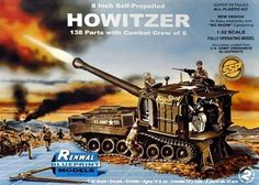Revell Model Kit 7855 1/32 Scale 8 INCH Self-Propelled Howitzer SSP GMS CUSTOMS picclick.com