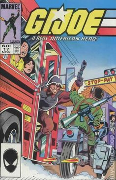 New 1982 Gi Joe #136p With Card Marvel Comics Excellent Quality