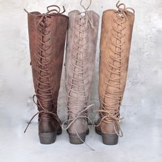 very volatile - miraculous - knee high zip boot (women) - more colors…