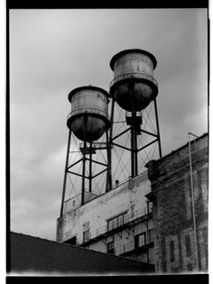 Water Towers  Duluth MN by sureMOE