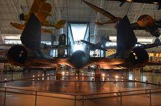 Steven F. Udvar-Hazy Center: SR-71 Blackbird (tail view) - http://yourdatingfix.com/steven-f-udvar-hazy-center-sr-71-blackbird-tail-view.html