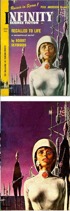 ED EMSHWILLER - Recalled to Life by Robert Silverberg - June 1958 Infinity Science Fiction