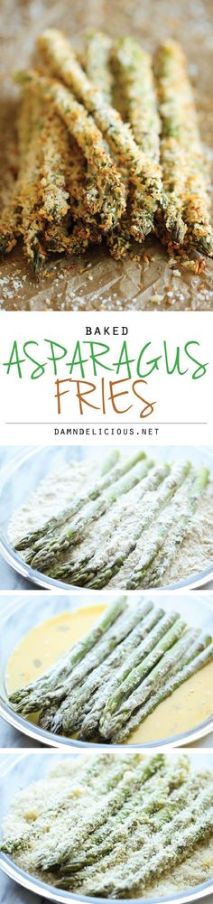 Baked Asparagus Fries - 16 Highest-Ranking Vegetable Side Dishes   GleamItUp