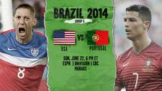 United States of America vs Portugal Live Stream Info FIFA World Cup Preview 2014: http://www.watchcriclive.com/news/?p=670