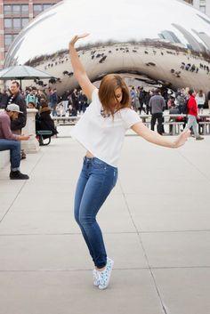 Millenium Park | Chicago Blogger | Taylor Swift x Keds