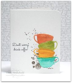 Eeep, It's officially fall and that means it's time for the Coffee Loving Papercrafter's fall blog hop.    For my card I used ...