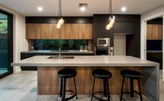 The most superb thing about the kitchen actually is depending on its design. If you are thinking about altering your kitchen layout, you want a few kitchen design ideas to get you started. A new kitchen design means you need… Continue Reading → Home Decor Kitchen, New Kitchen, Kitchen Ideas, Kitchen Wood, Kitchen Grey, Kitchen Inspiration, Floors Kitchen, Kitchen Industrial, Concrete Kitchen