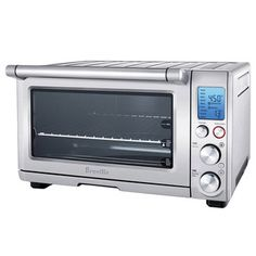 $249.95 Smart Convection Toaster Oven   Breville   (82 reviews)      I use my Breville oven for everything. My pizza came out a little crusty.  Cornish hens came out very juicy. The top does not get too hot.  It is almost a crime to call this a toaster oven. This is actually an oven that can do anything my full size wolf oven can do, but quicker and sometimes better. Easy to clean
