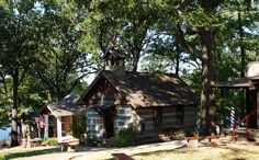 Har-Ber Village Museum, near Grove, OK, is an outdoor, walk-through museum where visitors will view antiques, collections and reproductions housed in both original and replicated buildings to provide a sense of the times of the late 19th and early 20th centuries.