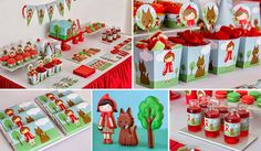 Bake and craft : Little Red Riding Hood party kit