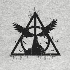 Awesome 'harry+potter+-+tale+of+three+brothers' design on TeePublic!