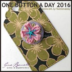 Day 100: Hana #onebuttonaday by Gina Barrett
