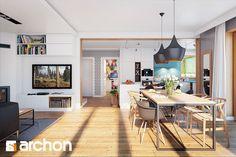 Dom w miłowonkach - zdjęcie od ARCHONhome - Jadalnia - Styl Skandynawski - ARCHONhome