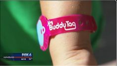 New Buddy Tag App allows you to keep track and find children in large crowds (e.g. theme parks) Website: mybuddytag.com/