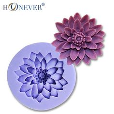 Daisy Silicone Mold Round Flower Chocolate Fondant Tools Cake Mould Soap Mold #baking