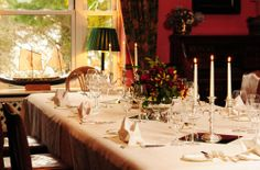 Private Dining in the Library for 14 people