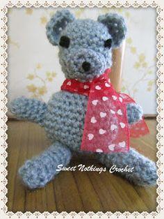 Sweet Nothings Crochet: LIL MR. TEDDY BEAR # 2