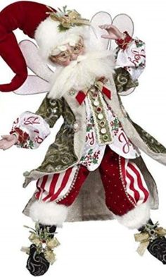 Very Merry Fairy, Large - 19 Inches - Official Mark Roberts Wholesale Site Mark Roberts Elves, Mark Roberts Fairies, Christmas Fairy, Christmas Store, Elves And Fairies, Fantasy Fairies, Elf Christmas Decorations, Vintage Santas, Sweet Memories