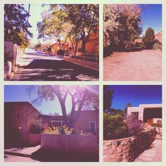 Gorgeous Adobes on Otero street in Santa Fe, NM