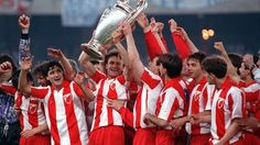 1990/91: Crvena Zvezda won the Champions League on May 29. Today 13 years later we celebrate our heroes.