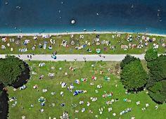 Bernhard Lang - projeto aerial series