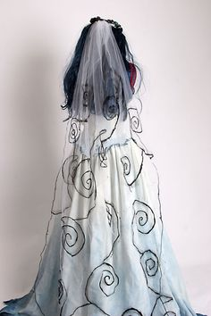 Corpse Bride Costume  Based on Tim Burton movie by Deconstructress, $499.00